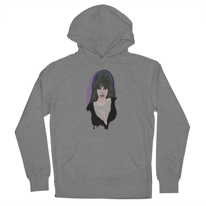 Elvira Women's French Terry Pullover Hoody by coolsaysnev's Shop