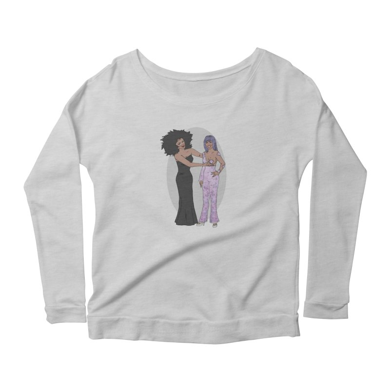 Boob Tap Women's Longsleeve T-Shirt by coolsaysnev's Shop