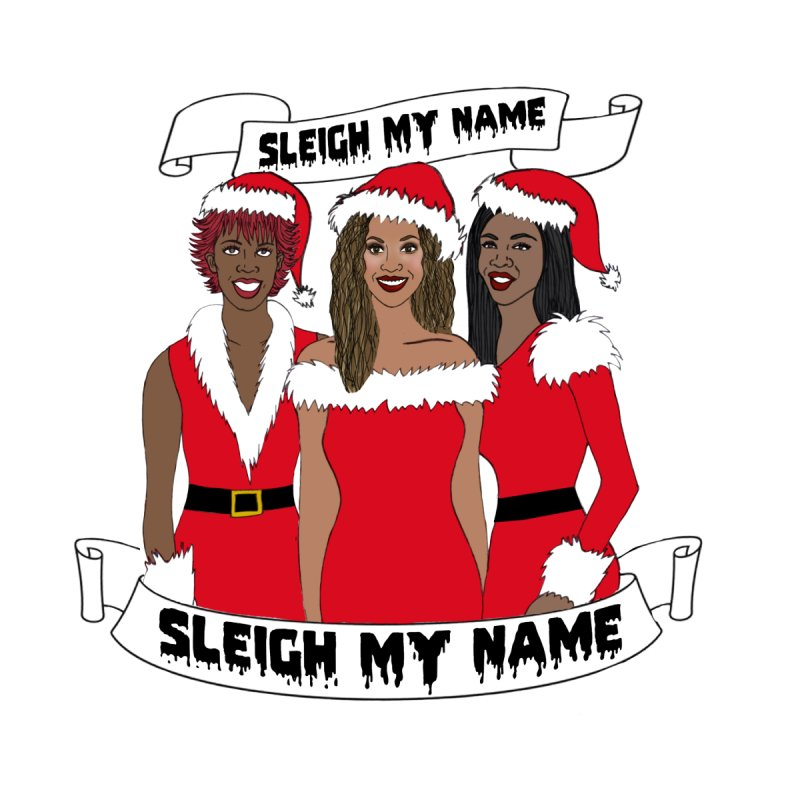 Destinys Child Christmas Women's V-Neck by coolsaysnev's Shop