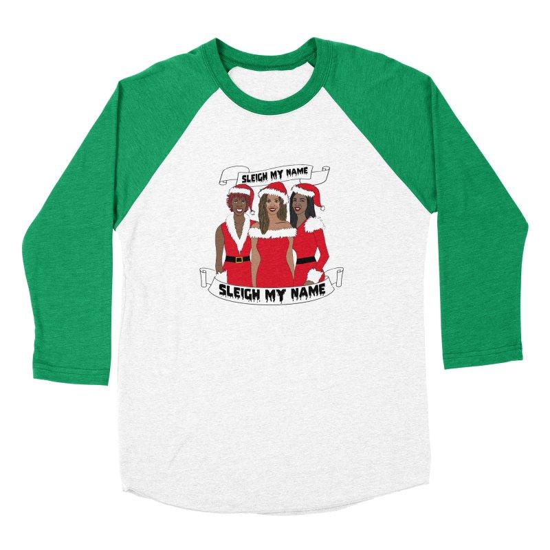 Destinys Child Christmas Women's Baseball Triblend Longsleeve T-Shirt by coolsaysnev's Shop