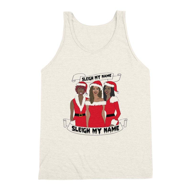 Destinys Child Christmas Men's Triblend Tank by coolsaysnev's Shop