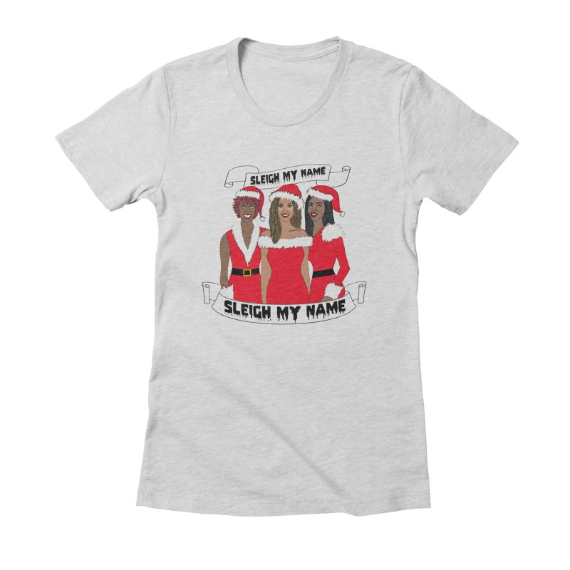 Destinys Child Christmas Women's Fitted T-Shirt by coolsaysnev's Shop