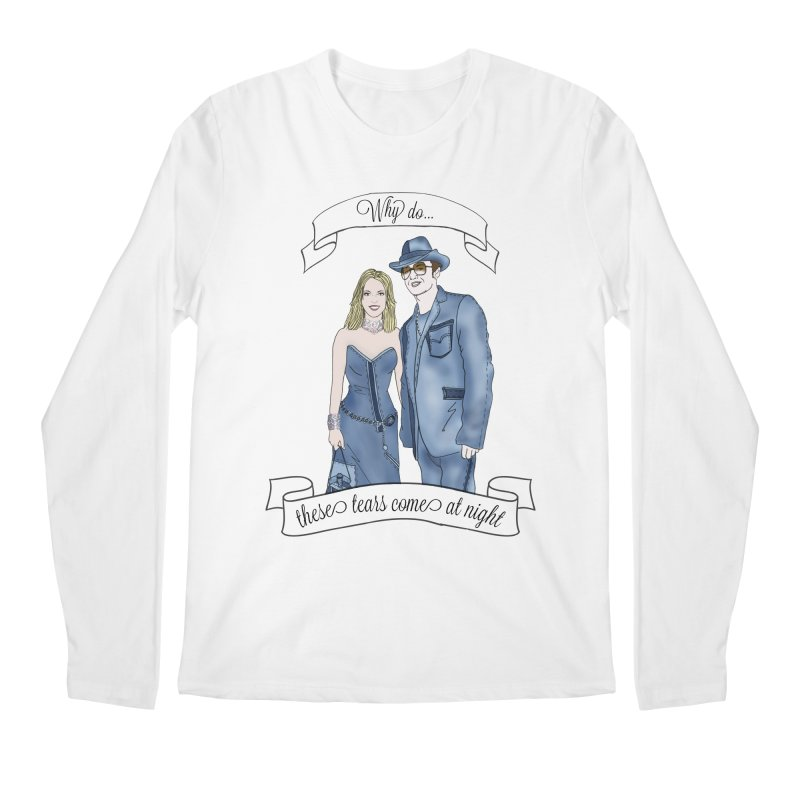 She's so luck Men's Regular Longsleeve T-Shirt by coolsaysnev's Shop