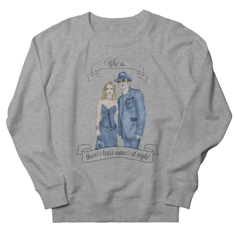 She's so luck Men's French Terry Sweatshirt by coolsaysnev's Shop
