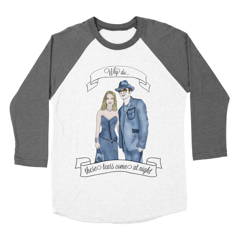 She's so luck Men's Baseball Triblend Longsleeve T-Shirt by coolsaysnev's Shop