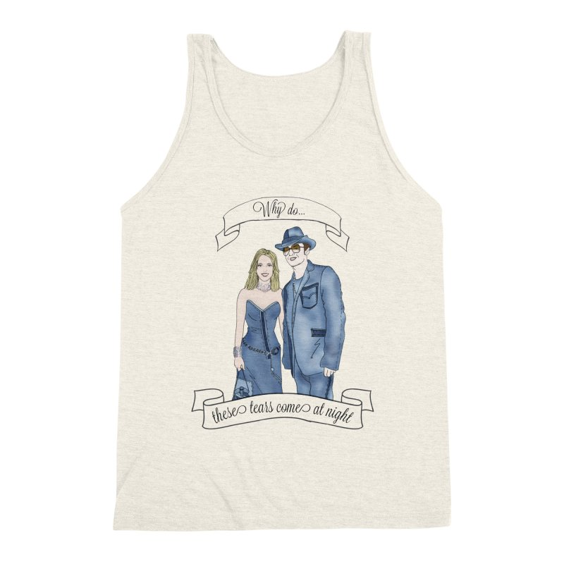 She's so luck Men's Triblend Tank by coolsaysnev's Shop