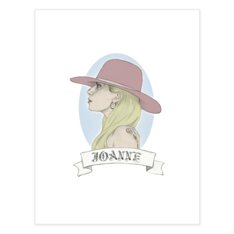 Joanne Home Fine Art Print by coolsaysnev's Shop