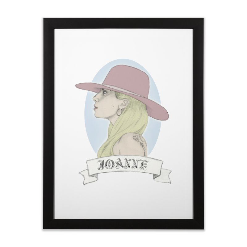 Joanne Home Framed Fine Art Print by coolsaysnev's Shop