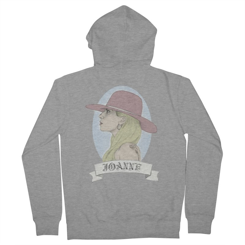 Joanne Men's French Terry Zip-Up Hoody by coolsaysnev's Shop