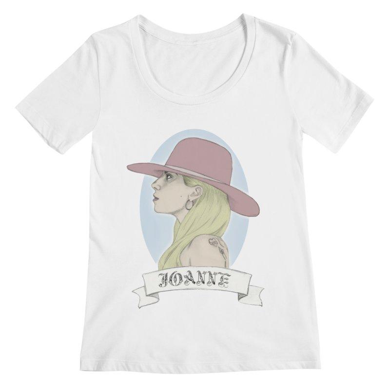 Joanne Women's Scoopneck by coolsaysnev's Shop
