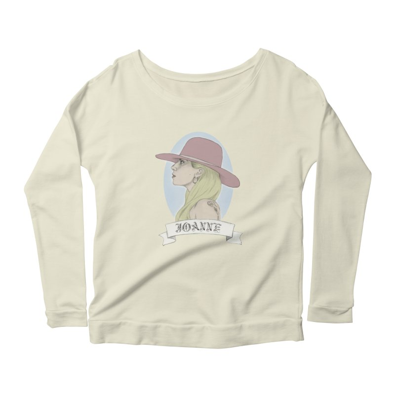 Joanne Women's Longsleeve Scoopneck  by coolsaysnev's Shop