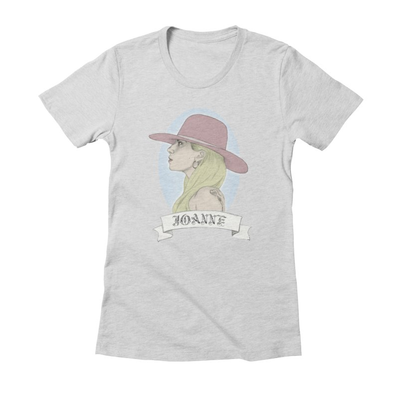 Joanne Women's Fitted T-Shirt by coolsaysnev's Shop