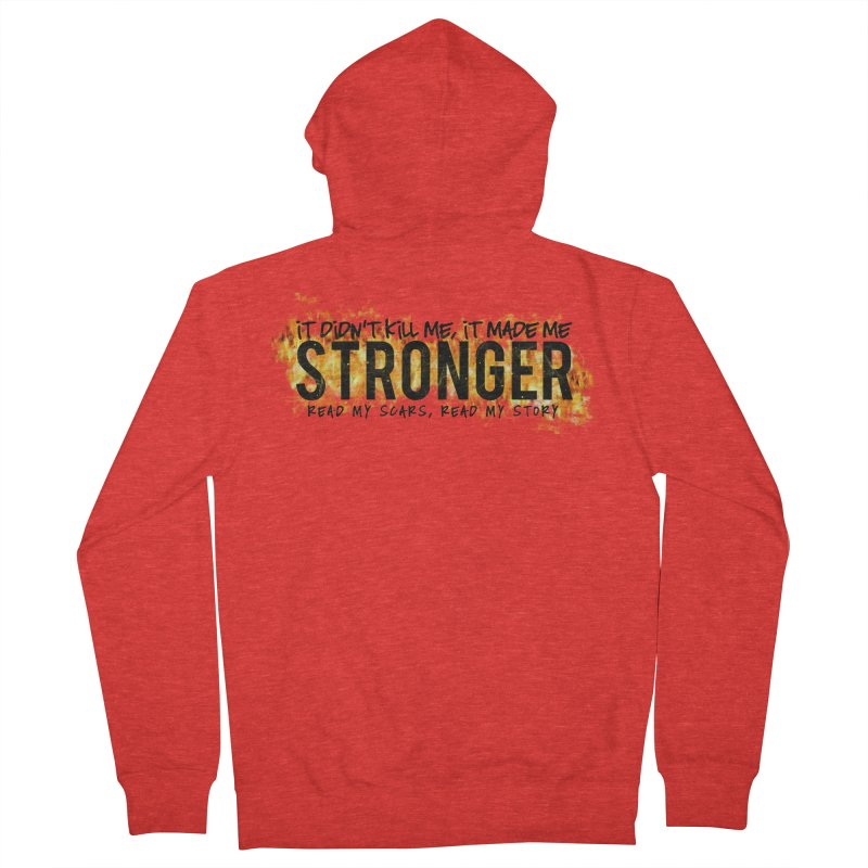 STRONGER Men's Zip-Up Hoody by Corbly4Art - Creative Fantasy Made Real