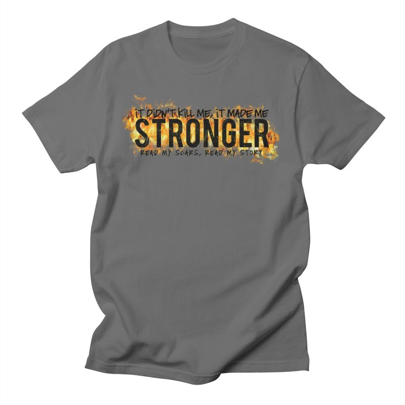 STRONGER Men's T-Shirt by Corbly4Art - Creative Fantasy Made Real