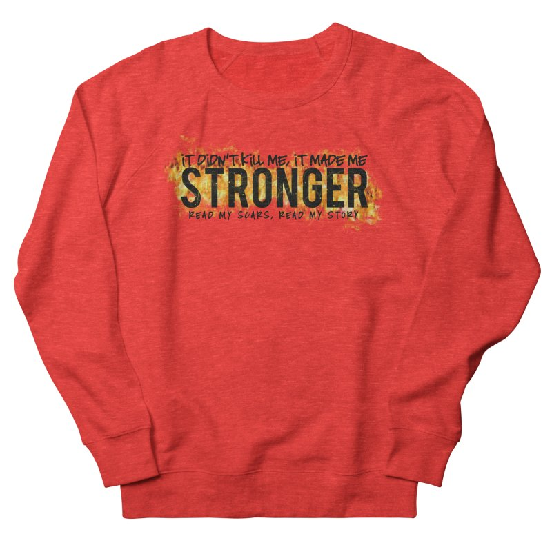 STRONGER Men's Sweatshirt by Corbly4Art - Creative Fantasy Made Real