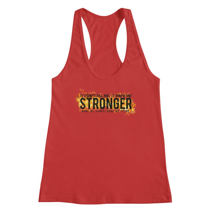 STRONGER Women's Tank by Corbly4Art - Creative Fantasy Made Real