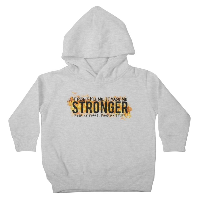 STRONGER Kids Toddler Pullover Hoody by Corbly4Art - Creative Fantasy Made Real