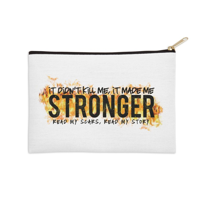 STRONGER Accessories Zip Pouch by Corbly4Art - Creative Fantasy Made Real