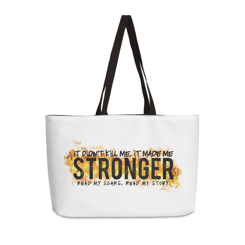STRONGER Accessories Bag by Corbly4Art - Creative Fantasy Made Real