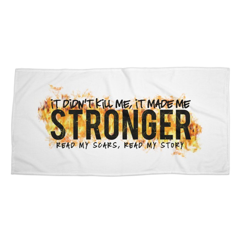 STRONGER Accessories Beach Towel by Corbly4Art - Creative Fantasy Made Real