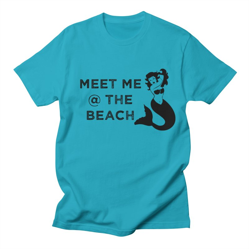 Meet Me at the Beach Women's T-Shirt by Corbly4Art - Creative Fantasy Made Real