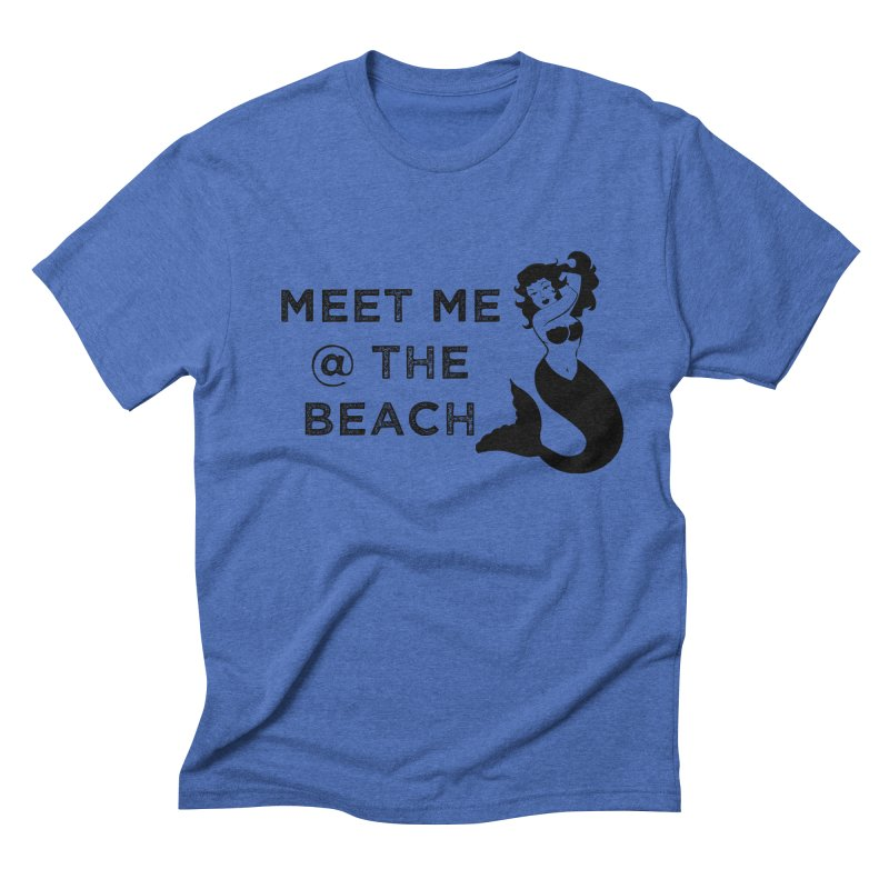 Meet Me at the Beach Men's T-Shirt by Corbly4Art - Creative Fantasy Made Real