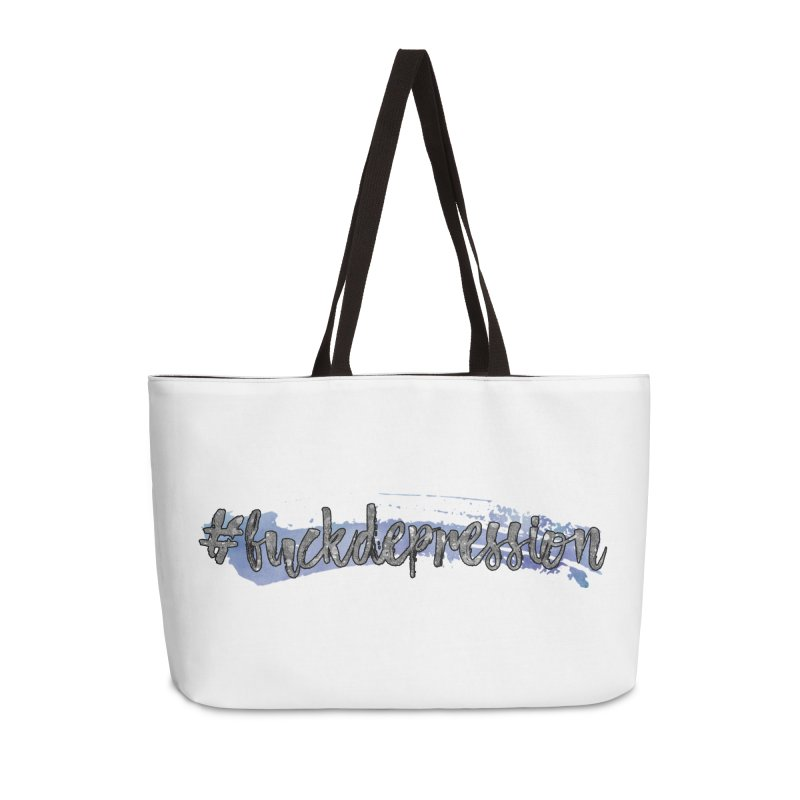#fuckdepression Accessories Bag by Corbly4Art - Creative Fantasy Made Real