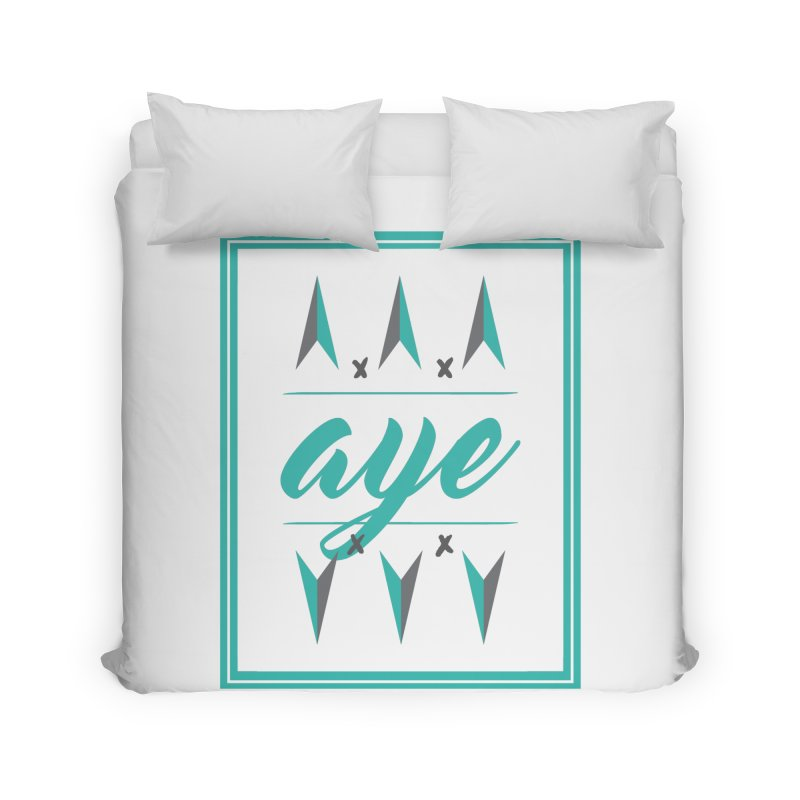 Ayeeee Home Duvet by Cordelia Denise
