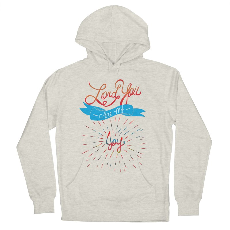 Lord You Are My Joy White Men's Pullover Hoody by Cordelia Denise