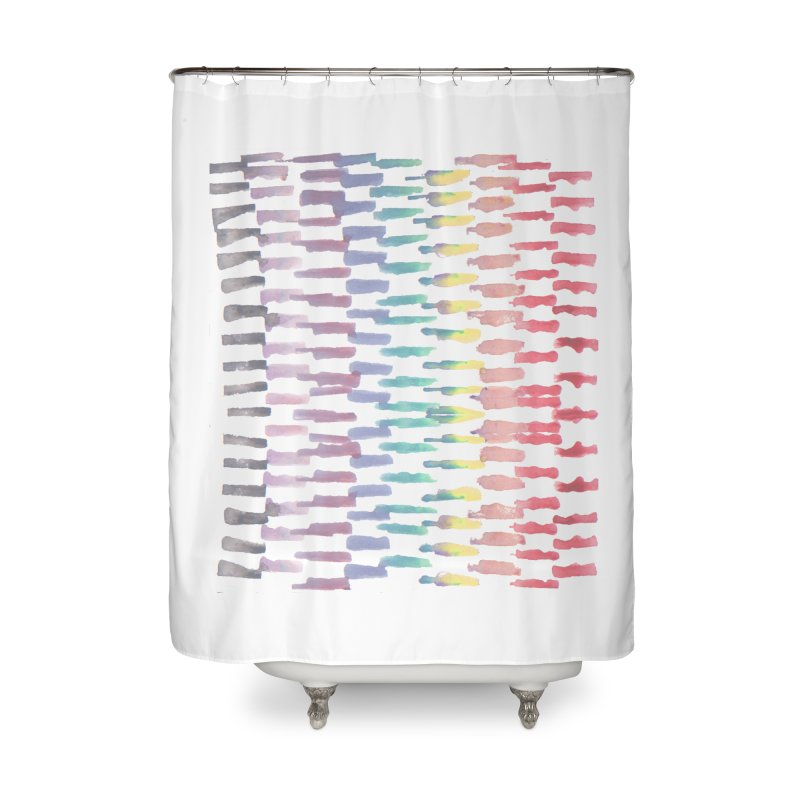 Here We Go! Home Shower Curtain by Cordelia Denise