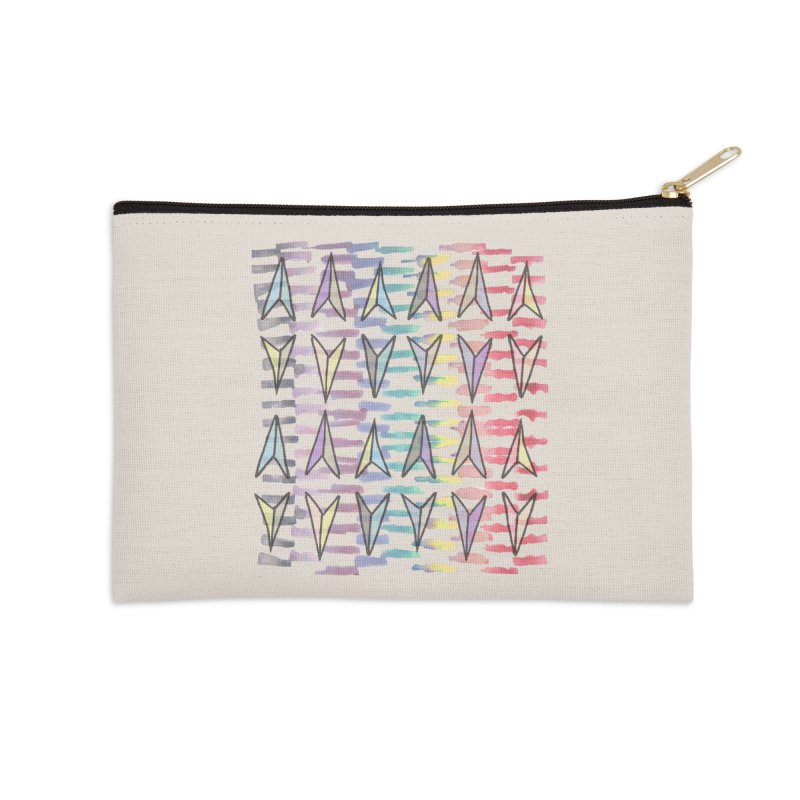 Here We Go Again! Accessories Zip Pouch by Cordelia Denise