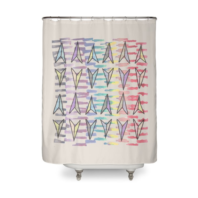 Here We Go Again! Home Shower Curtain by Cordelia Denise