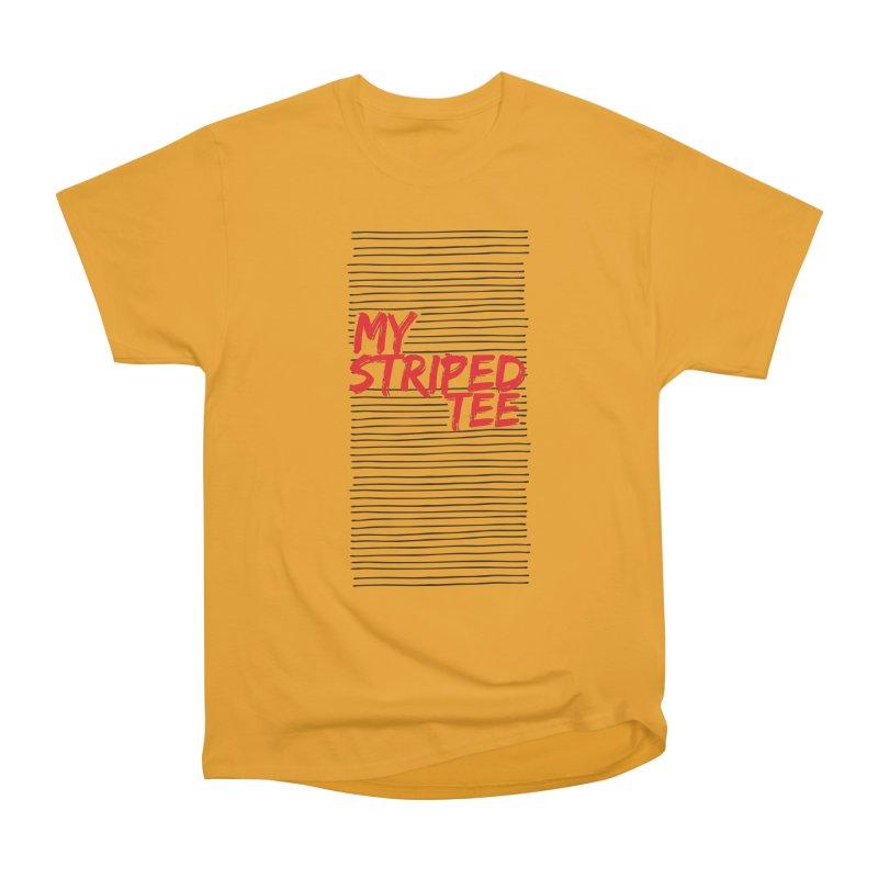 Striped Tee Women's Classic Unisex T-Shirt by Cordelia Denise