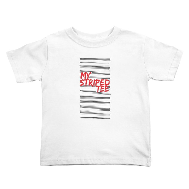 Striped Tee Kids Toddler T-Shirt by Cordelia Denise