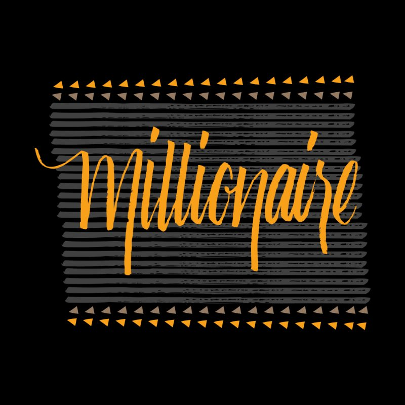 Millionaire-Orange/Black by Cordelia Denise