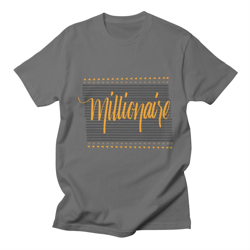 Millionaire-Orange/Black Women's Unisex T-Shirt by Cordelia Denise