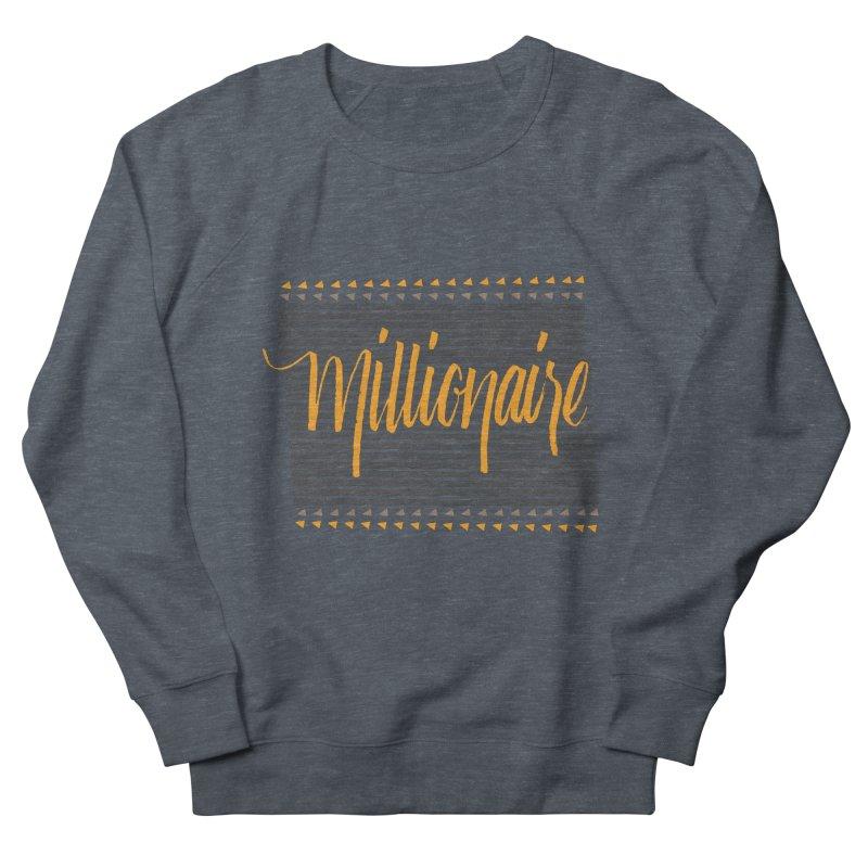 Millionaire-Orange/Black Men's Sweatshirt by Cordelia Denise