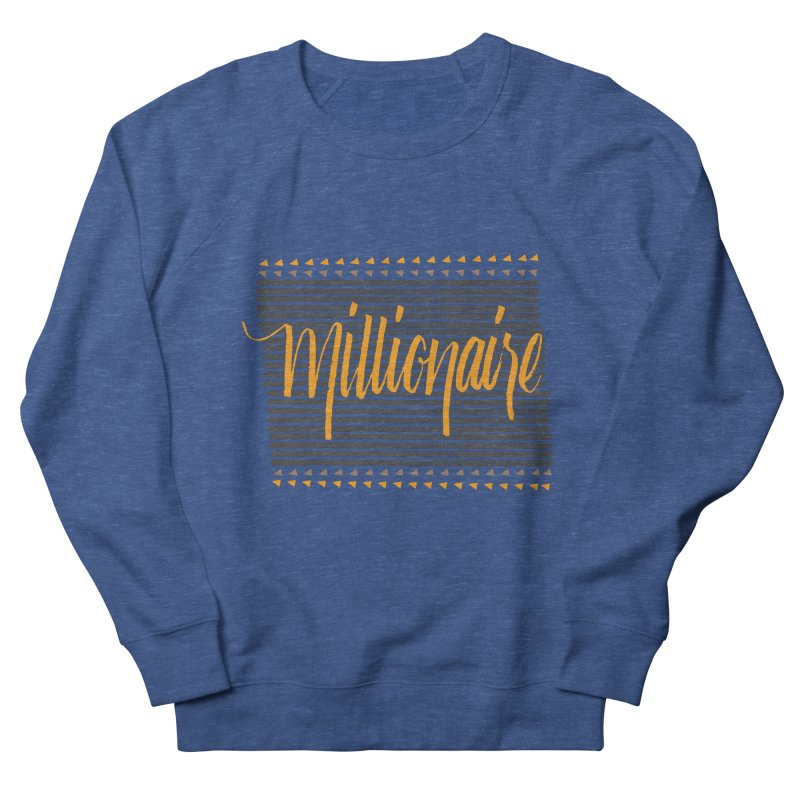 Millionaire-Orange/Black Men's Sweatshirt by Cordelia Denise