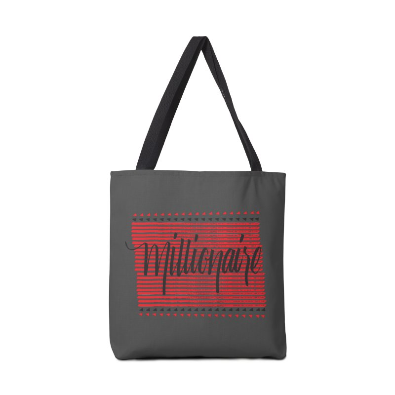 Millionaire-Black/Red Accessories Bag by Cordelia Denise