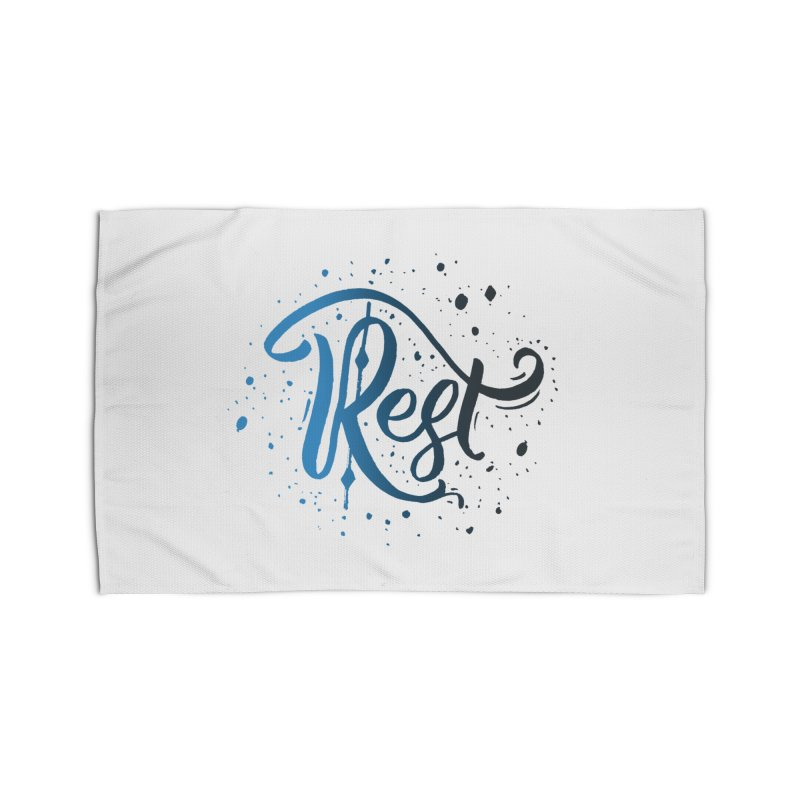 Rest Home Rug by Cordelia Denise