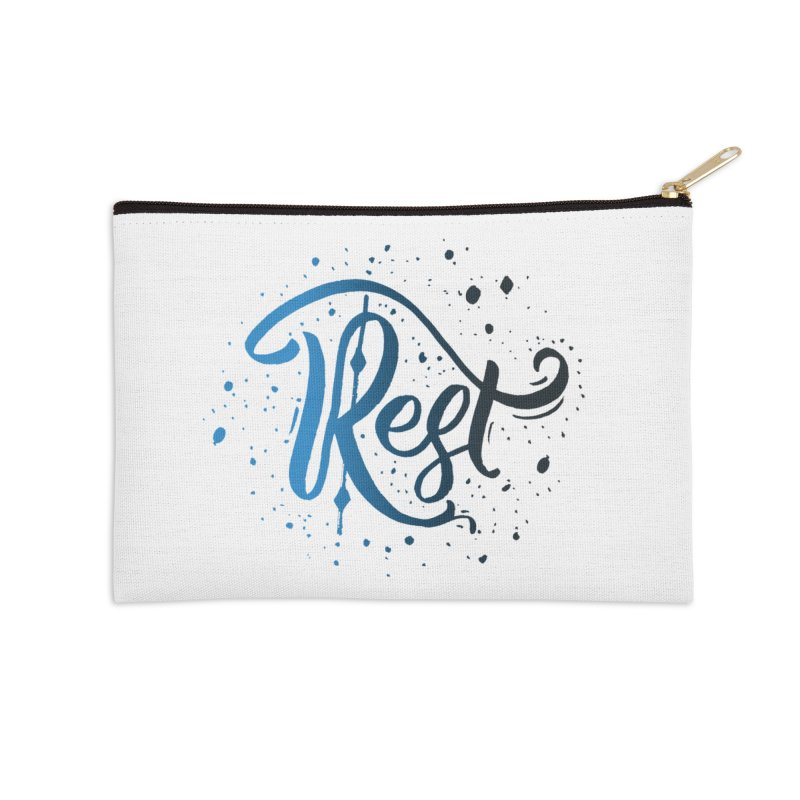 Rest Accessories Zip Pouch by Cordelia Denise