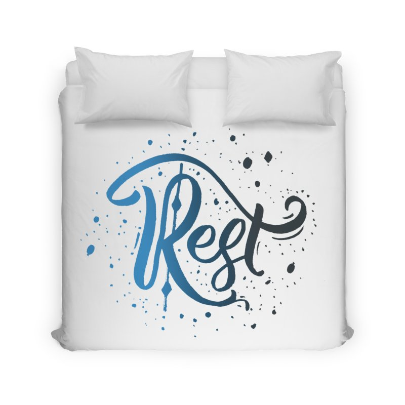 Rest Home Duvet by Cordelia Denise