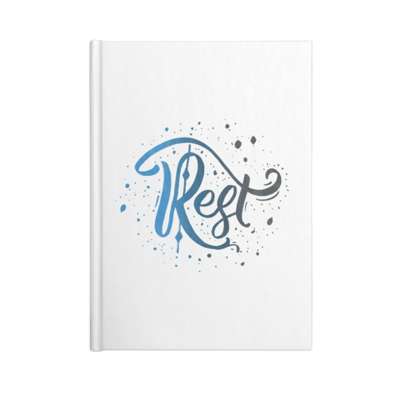 Rest Accessories Notebook by Cordelia Denise