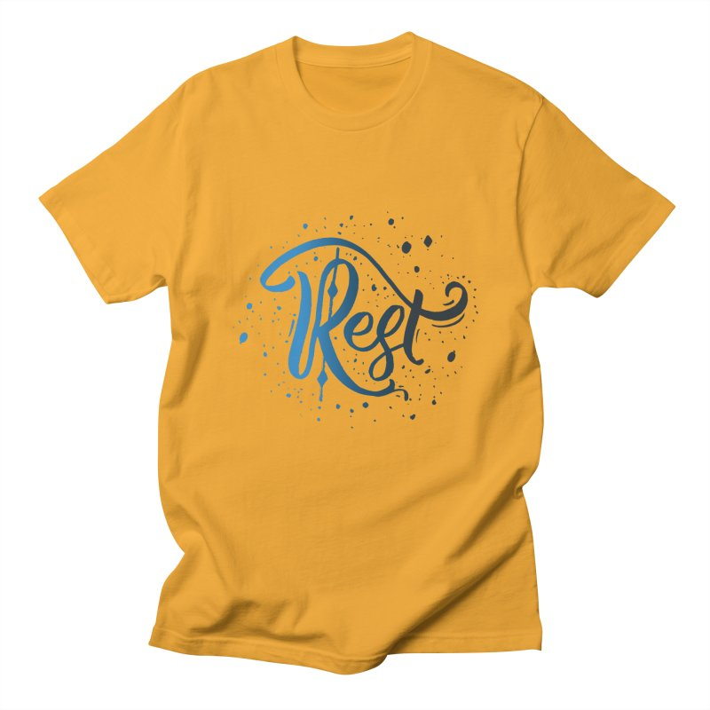 Rest Men's T-shirt by Cordelia Denise