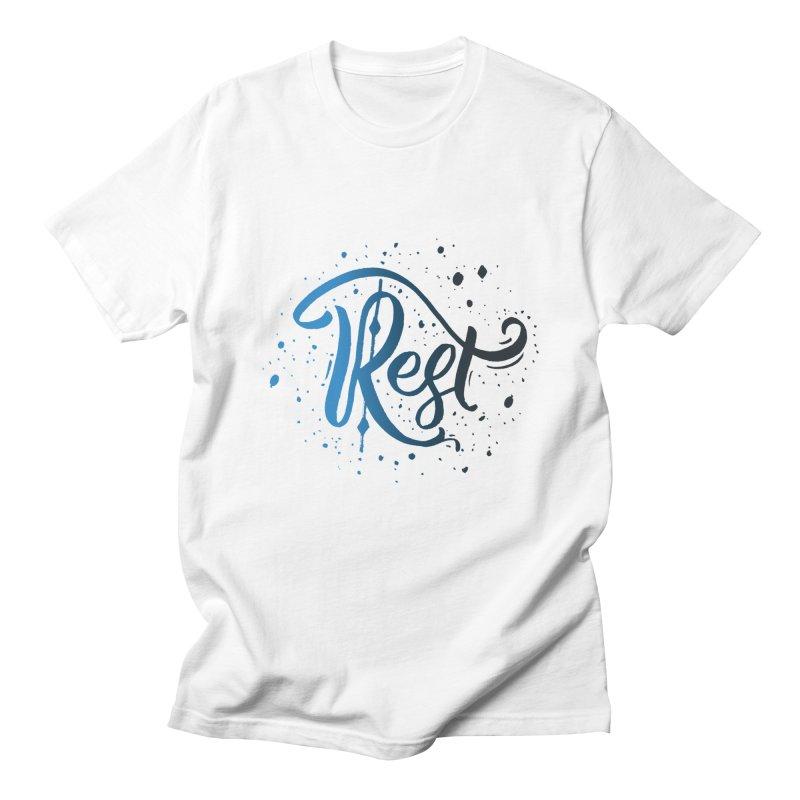 Rest Men's T-Shirt by Cordelia Denise