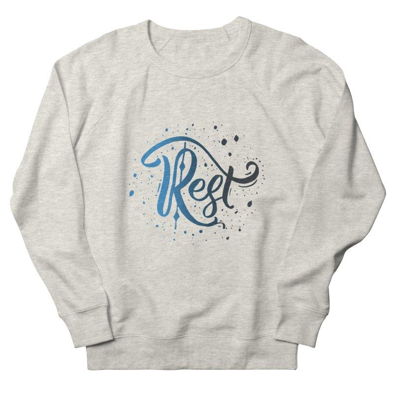 Rest Men's Sweatshirt by Cordelia Denise