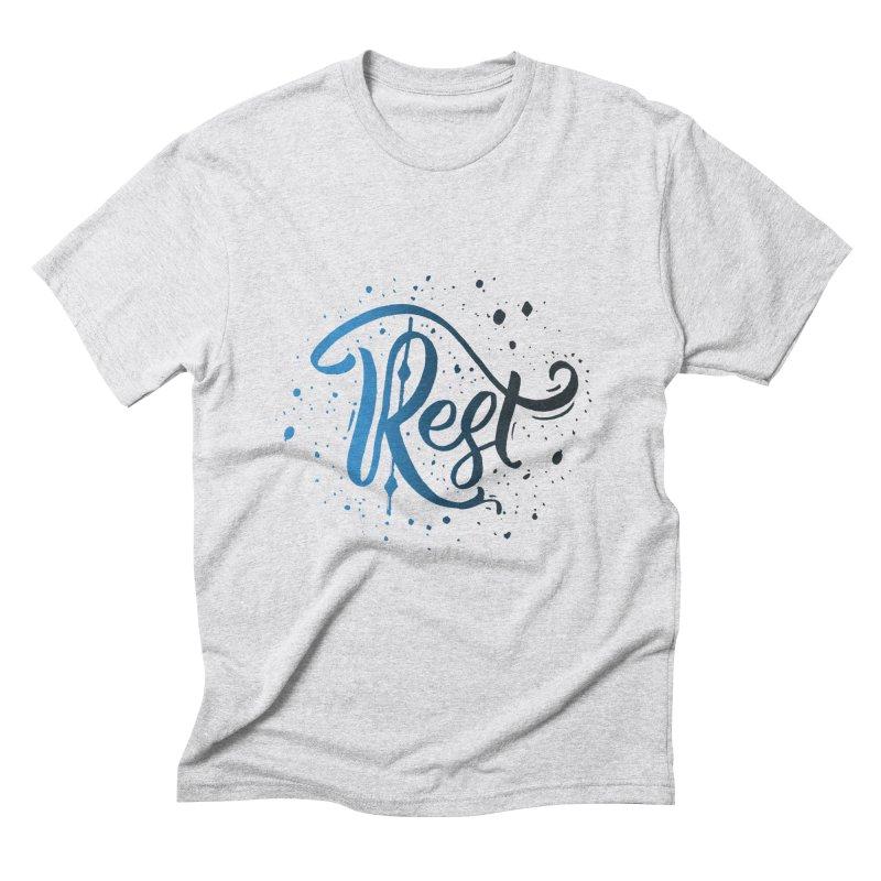 Rest Men's Triblend T-Shirt by Cordelia Denise