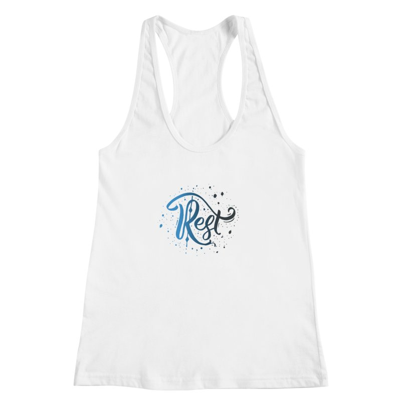 Rest Women's Racerback Tank by Cordelia Denise