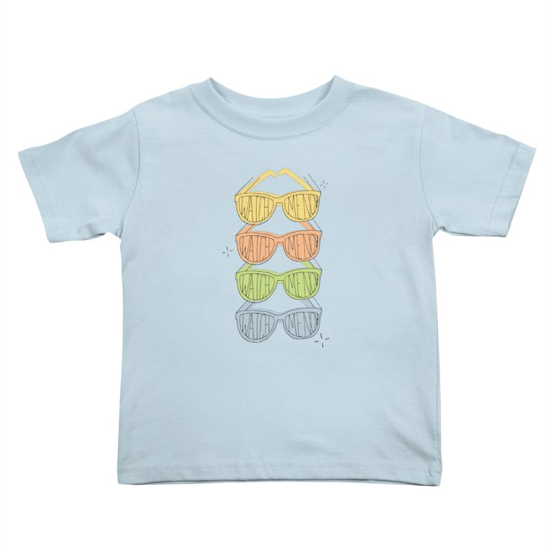 Like A TV Kids Toddler T-Shirt by Cordelia Denise