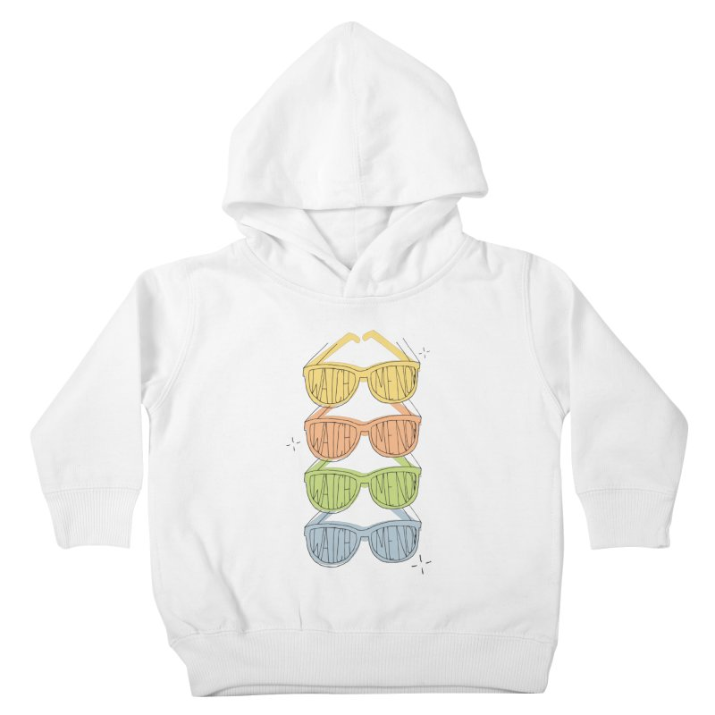 Like A TV Kids Toddler Pullover Hoody by Cordelia Denise